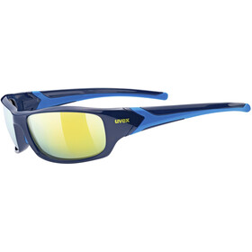 UVEX Sportstyle 211 Sportglasses blue/mirror yellow